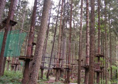 Dobrodružný park Abenteuerpark na Planai