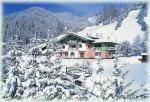 Rakouský apartmánový dům Baumanngut v zimě