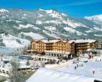 Rakouský hotel Oberforsthof v zimě