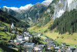 Rakouská vesnička Hüttschlag