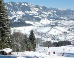 Rakouská obec Goldegg im Pongau se skiareálem